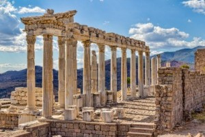 Pergamum Temple of Trajan